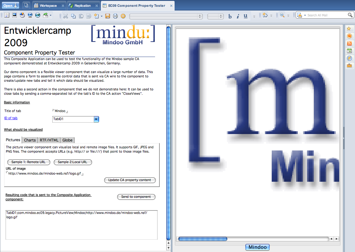 Mindoo Unit Test Composite Application For Our